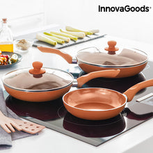 InnovaGoods Copper-Effect Pfannen Set (5-teilig)