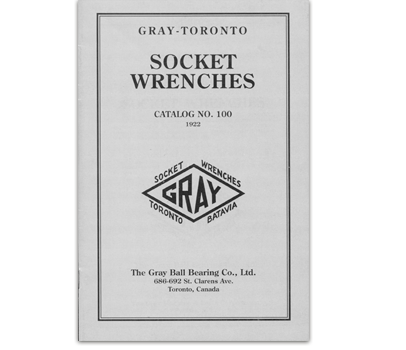 Gray Manufacturing & Machine Company - 1920