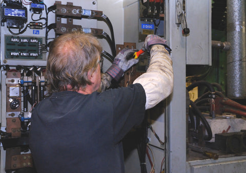 Electician Using Insulated Tools