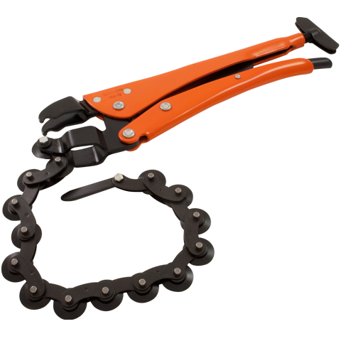 grip on locking chain pipe cutter heavy duty