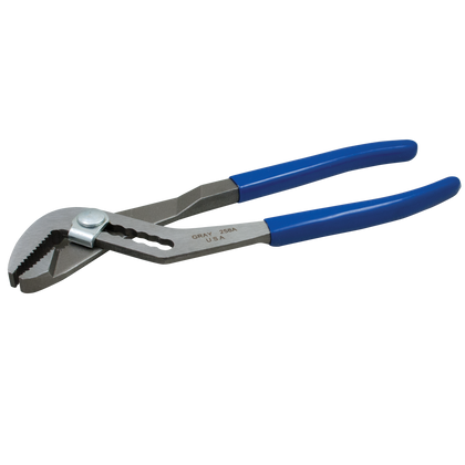 Water pump pliers with vinyl grips