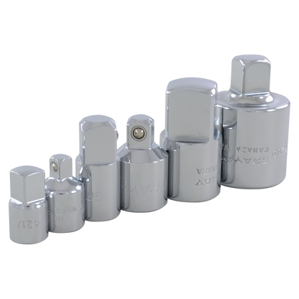 6 piece adapter set 1/4