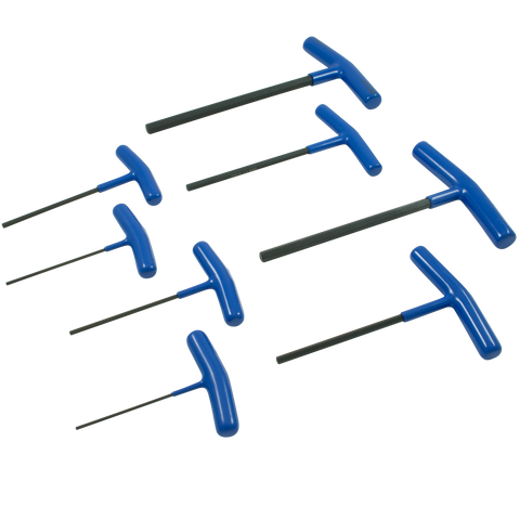 8 piece metric t handle hex key set