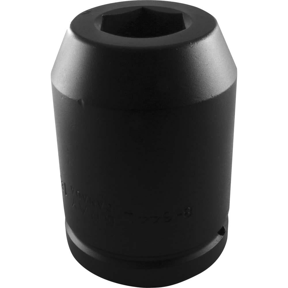 "1-1/2"" Drive 6 Point Deep Length Sockets - Impact Black Industrial Finish"