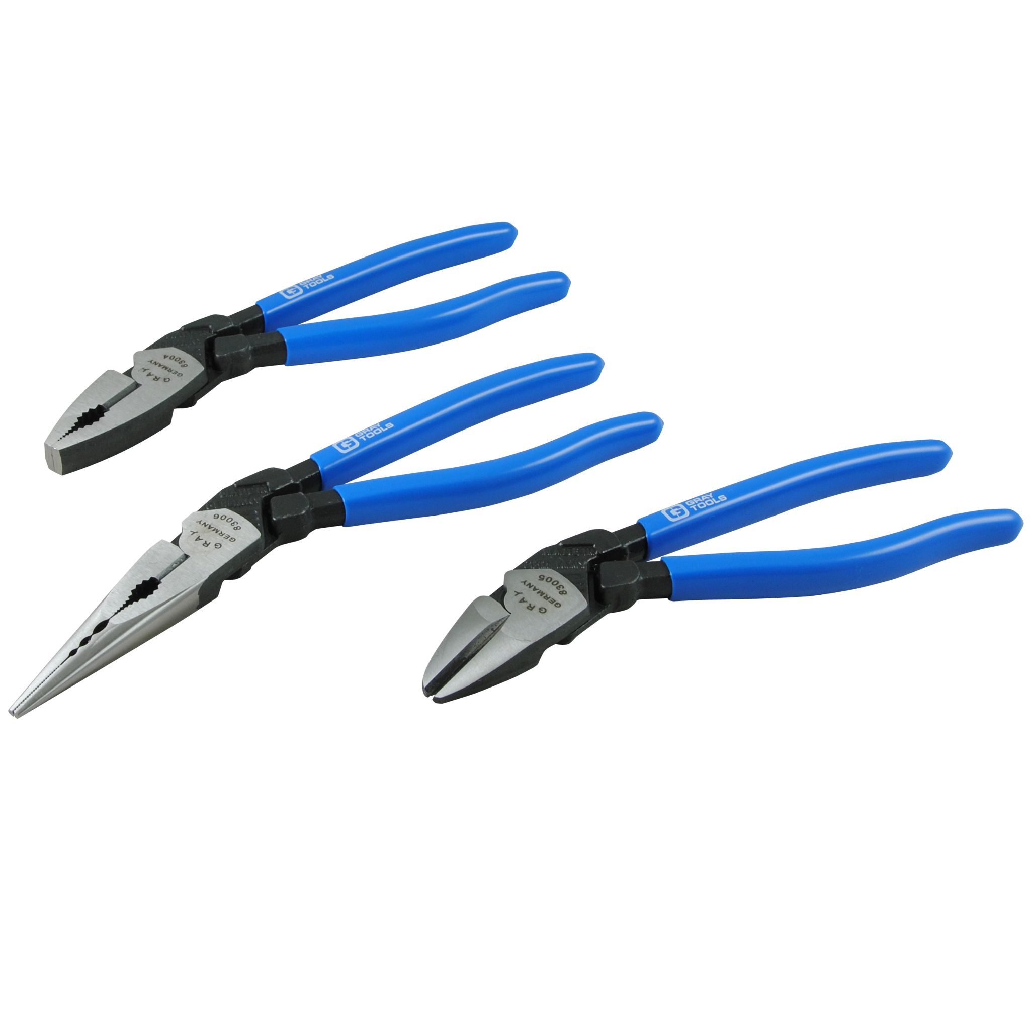 3 Piece Ergo-Handle Pliers Set