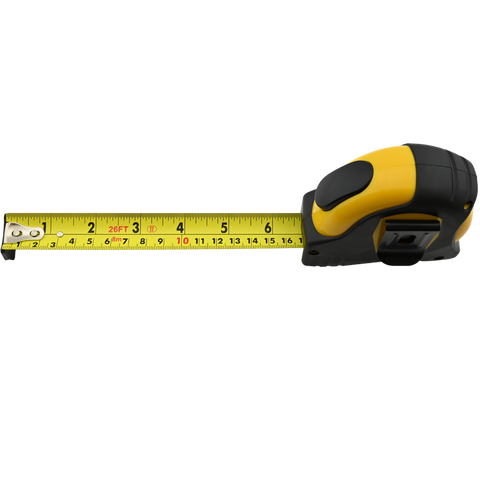 26 Foot Measuring Tape with Auto Lock