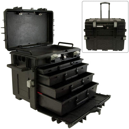 Mobile Tool Chest With Drawers - Industrial Version