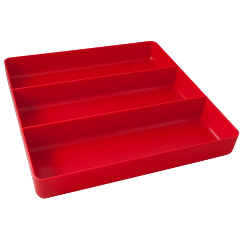 3 compartment tray organizer