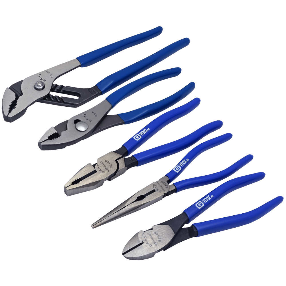 5 Piece Pliers Set