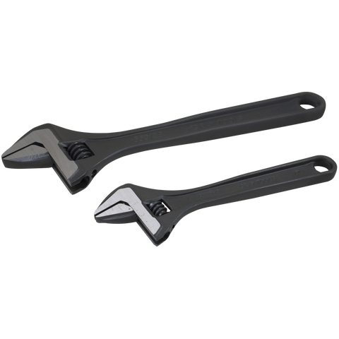 2 piece adjustable wrench set