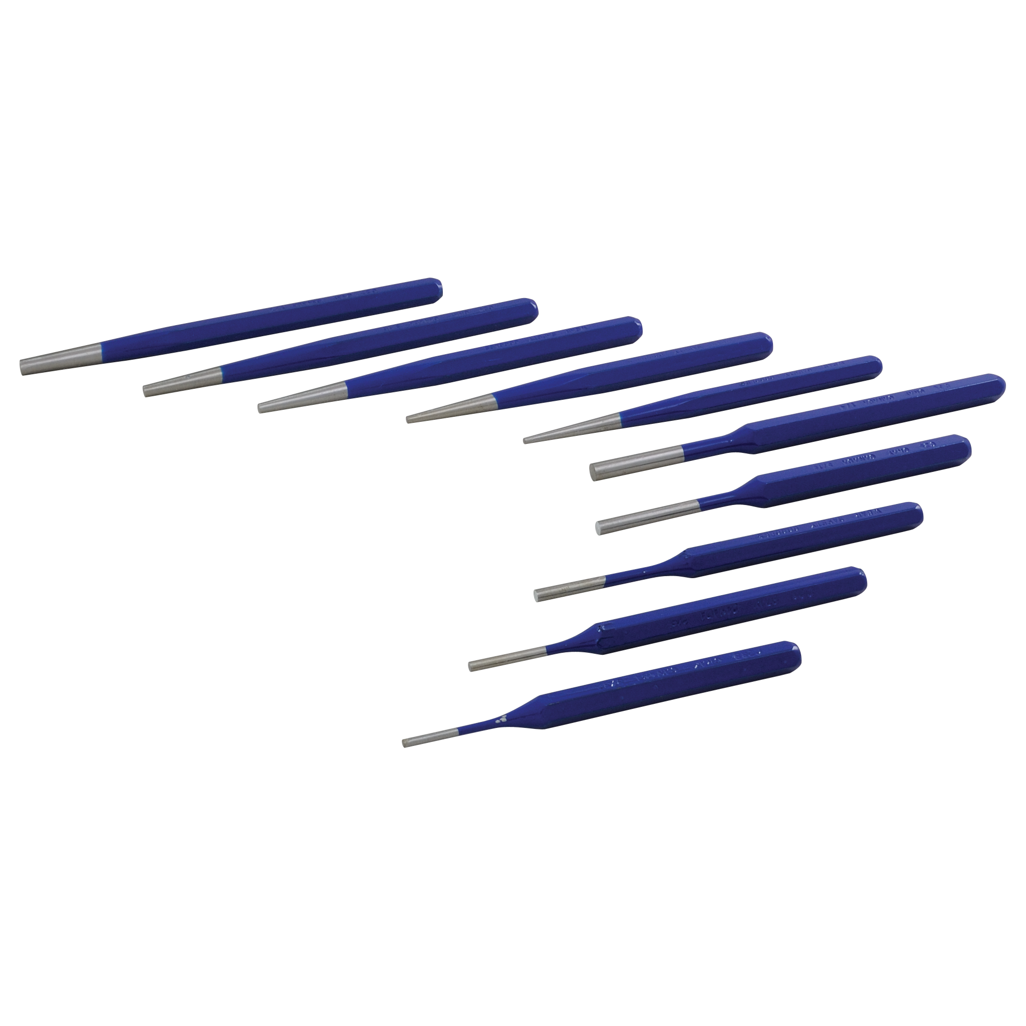 10 Piece Pin/Taper Punch Set