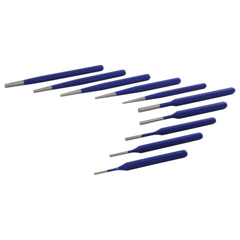 10 piece pin taper punch set