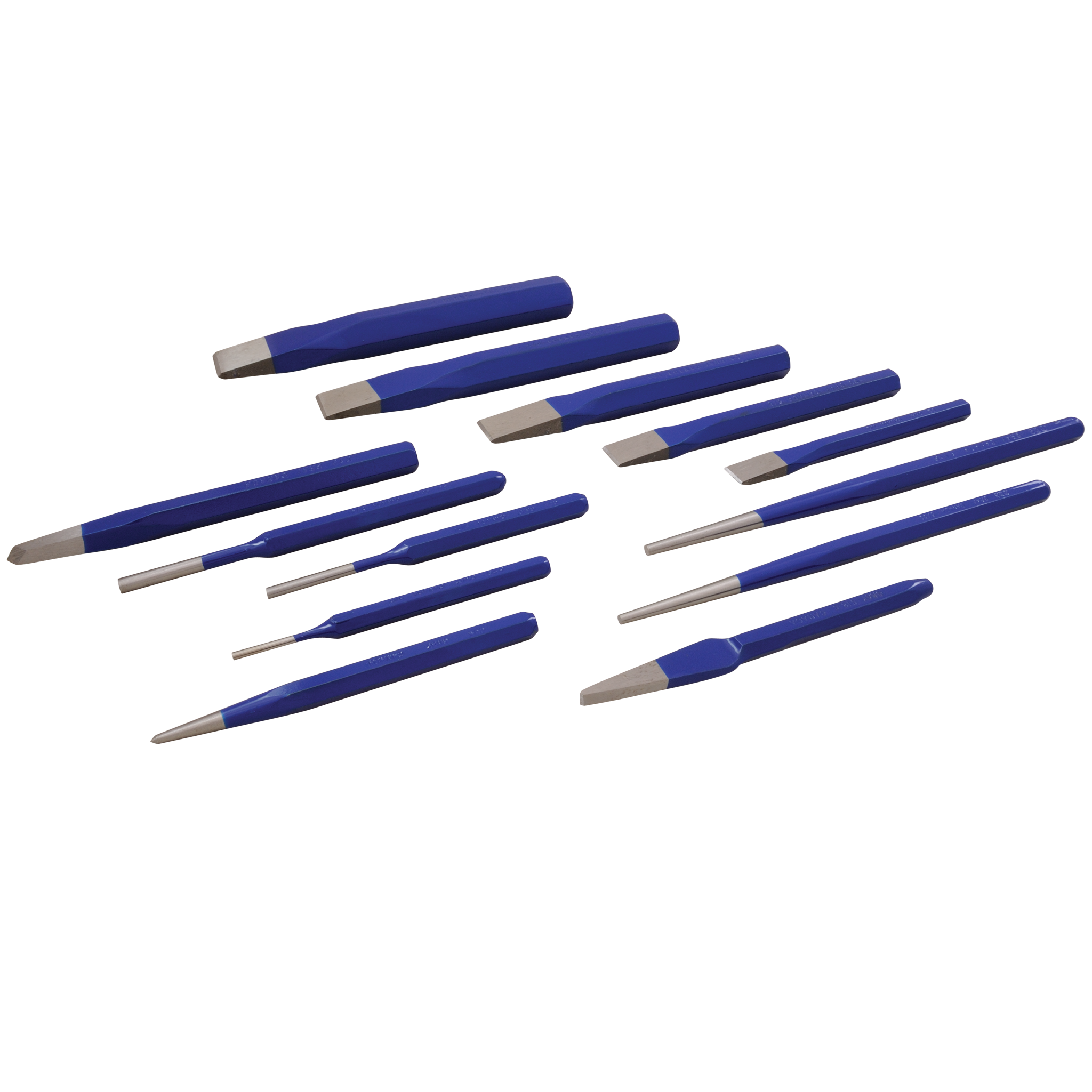 13 Piece Punch & Chisel Set