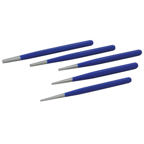 5 piece taper punch set