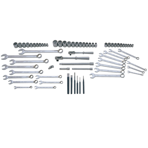 68 Piece SAE & Metric Starter Set - Tools Only