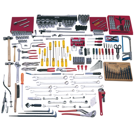 224 Piece Intermediate SAE Set - Tools Only