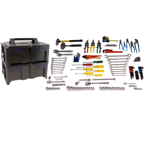 134 Piece Mobile Technician Tool Kit