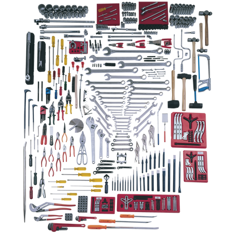 418 Piece SAE Master Set - Tools Only