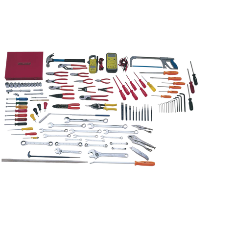 113 Piece Electricians Set - Tools Only