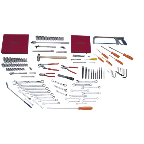 131 Piece Starter SAE & Metric Set - Tools Only