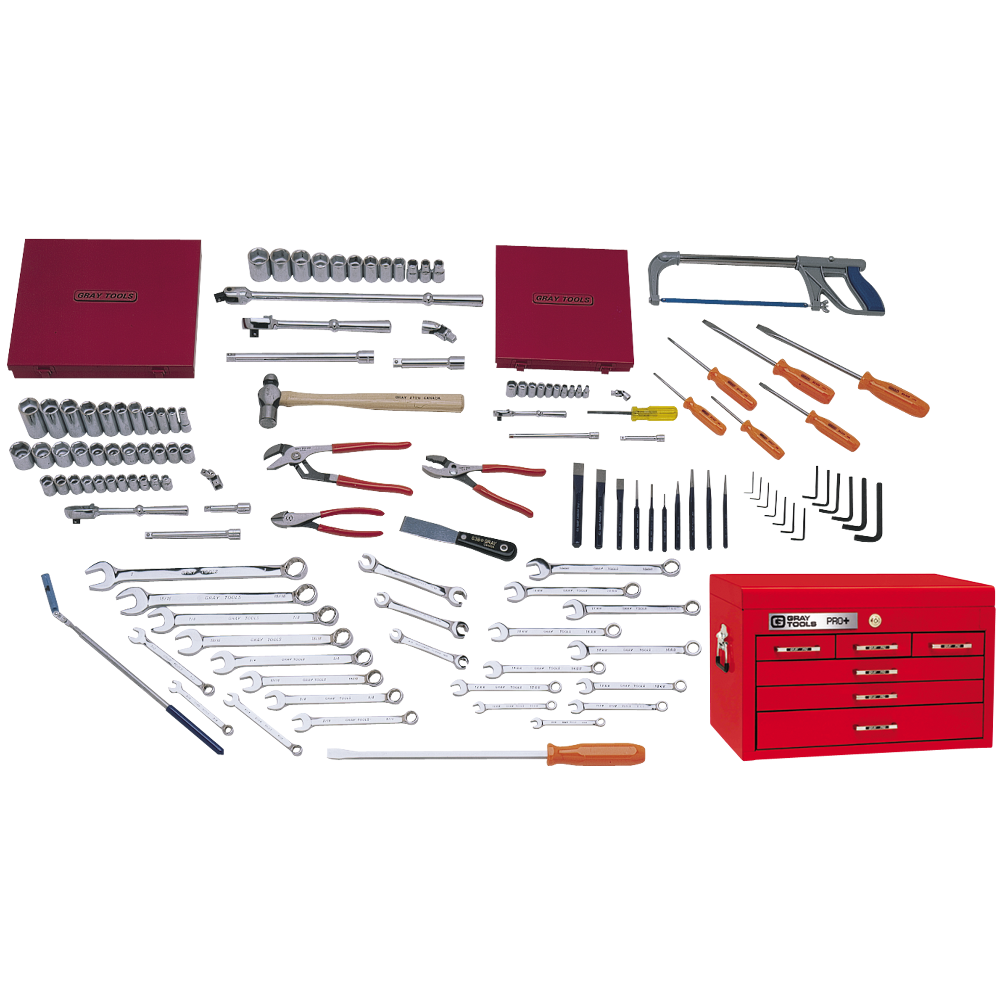 132 Piece Starter SAE & Metric Set