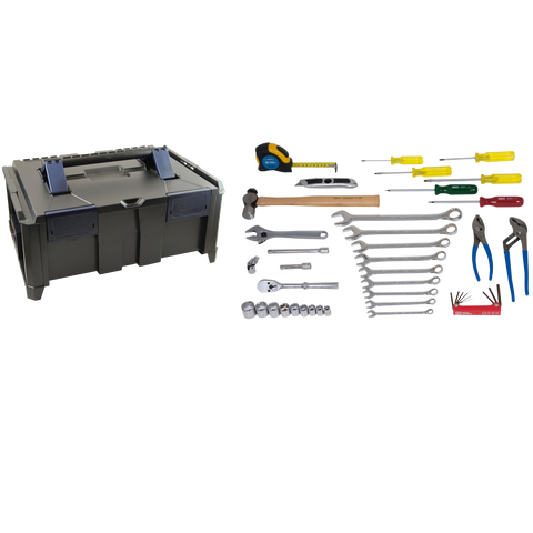 43 Piece Mobile Technician Tool Kit