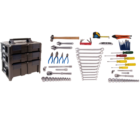 74 Piece Mobile Technician Tool Kit