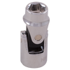 "3/8"" Drive 6 Point Metric Universal Joint Sockets - Standard Length"