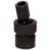 "3/8"" Drive Universal Joint Sockets - Impact Black Industrial Finish"