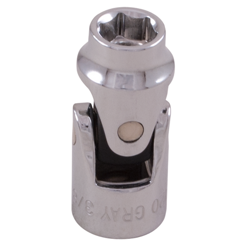 "3/8"" drive 6 point universal joint sockets standard length"