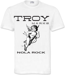 Troy Marks Nola Rock White T-Shirt