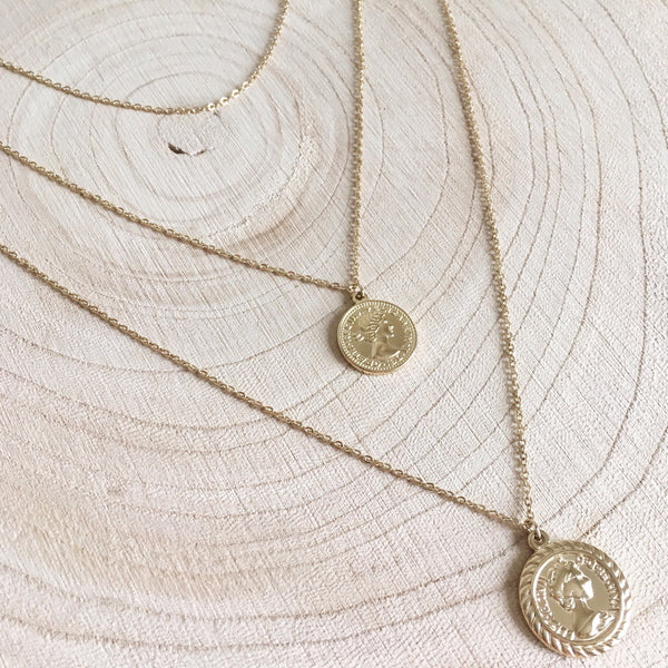 Collier triple gold