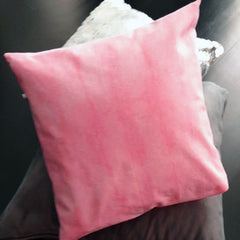 Pink tie dyed pillow slip
