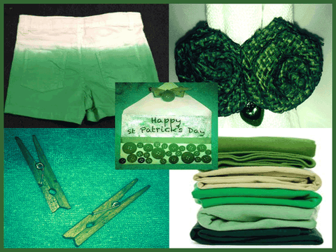 St Patricks Day Dyeing Projects