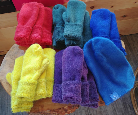Dyed Alpaca Assessories