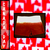 Dip Dyed Canada Day Shorts