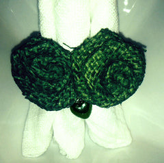Dyed Green Napkin Ring