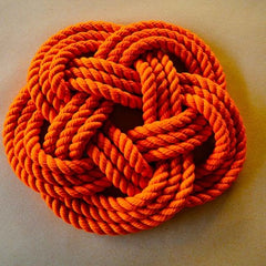 Dyed cotton rope