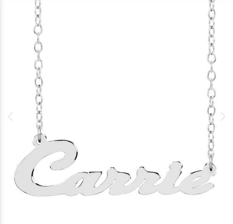 Carrie Personalized Necklace