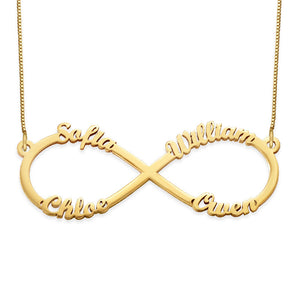 Multiple Infinity Necklace