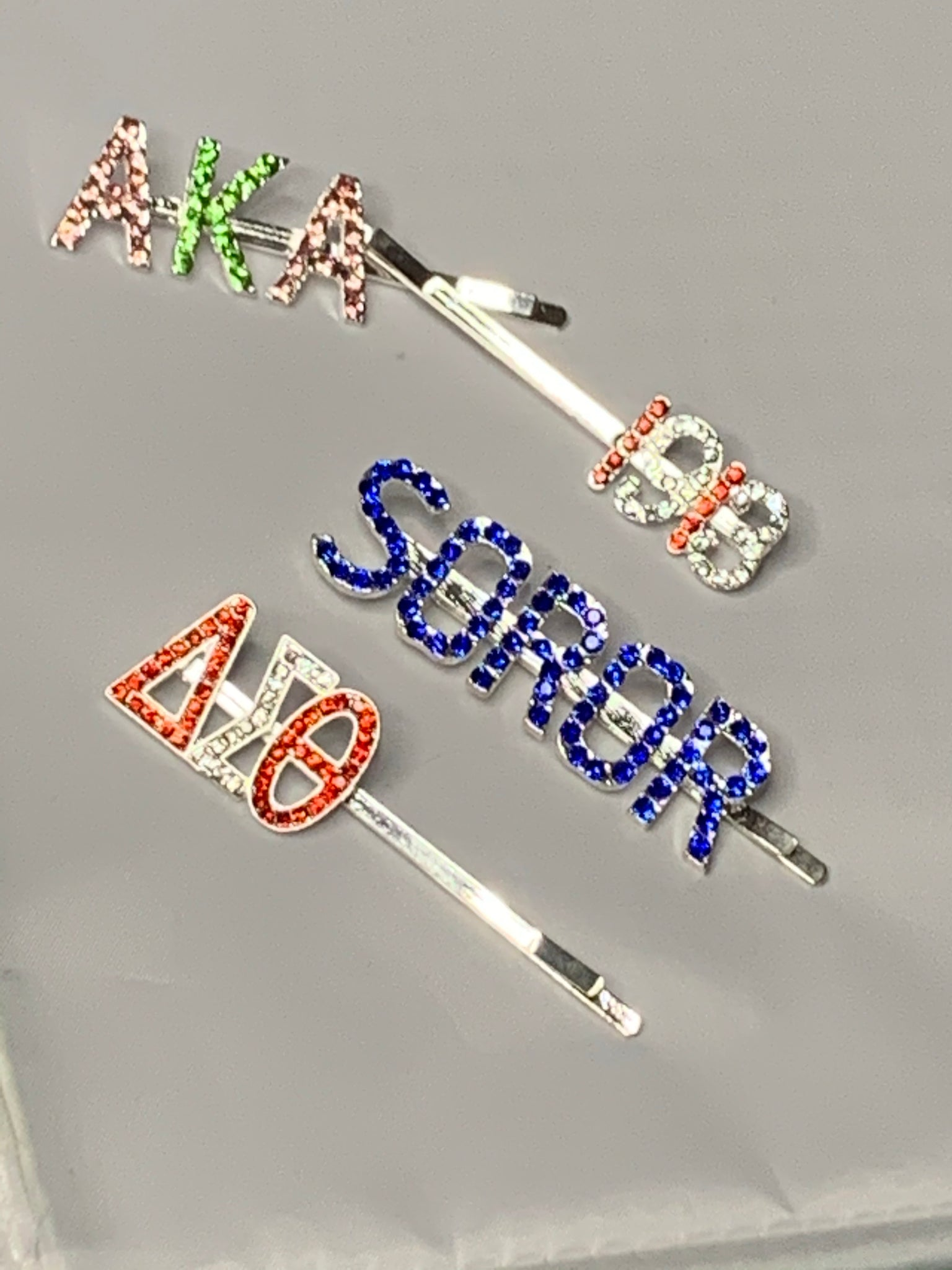 Sorority Hair Pins