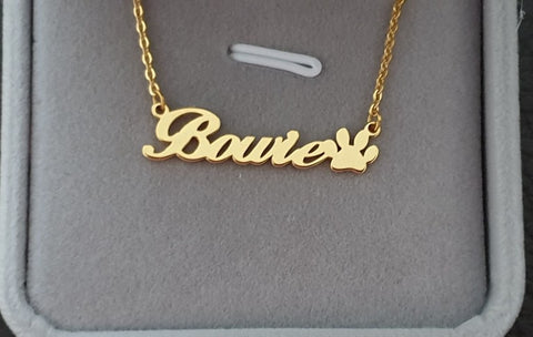 Bowie Style Personalized Necklace
