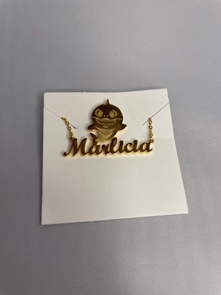 Character Personalized Necklace
