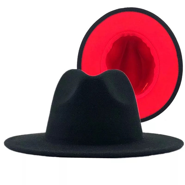 2 Shade Fedora Hat