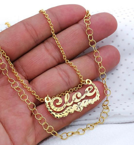 Cloe Style Personalized Necklace