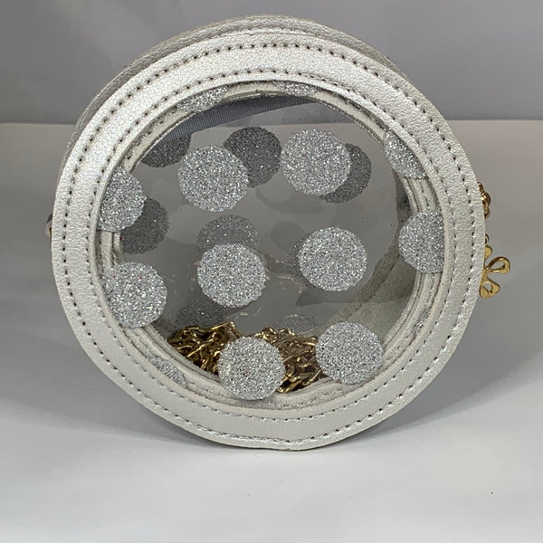 Polka Dot Clear Purse