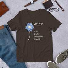 Load image into Gallery viewer, Unisex T-Shirt #FiveElements #Water - [Orientiful]