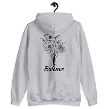 Load image into Gallery viewer, Hooded Sweatshirt #FiveElements #Balance