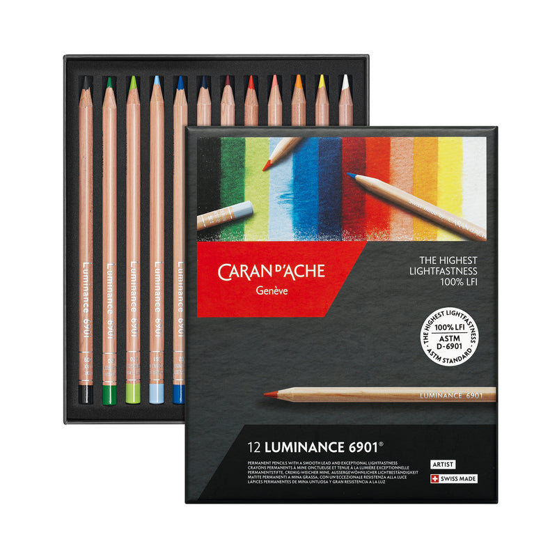 LUMINANCE 6901® - 12 colores - Caran d'Ache Colombia