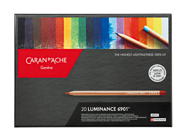 LUMINANCE 6901® - 20 colores - Caran d'Ache Colombia